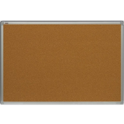 Изображение 2X3 BOARDS Korķa tāfele alumīnija rāmī 90x60 cm