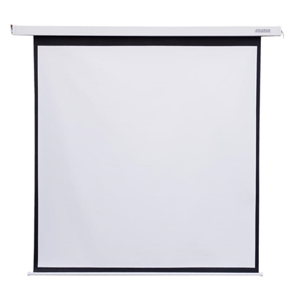 Attēls no 4World Electric mount projection screen, switch, 178x178 (1:1) Matt White