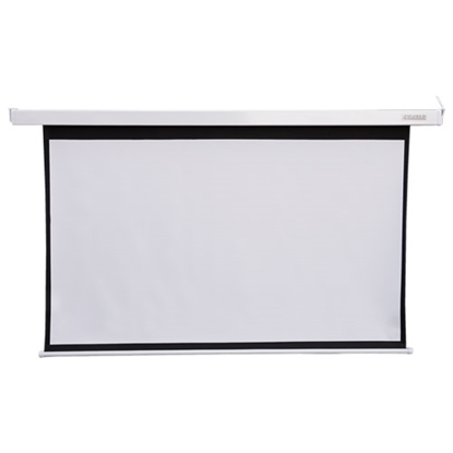 Attēls no 4World Electric mount projection screen, remote, 186x105 (16:9) Matt White