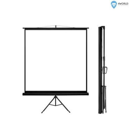 Picture of 4WORLD 08139 4World Projection screen wi
