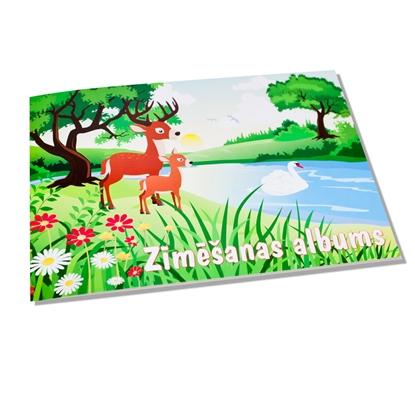 Изображение ABC JUMS Zīmēšanas albums   A4 formāts, 25 lapas