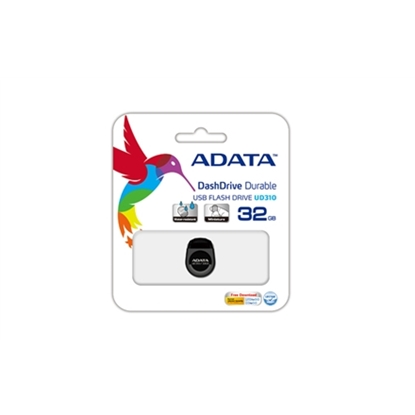 Изображение ADATA 32GB UD310 32GB USB 2.0 Type-A Black USB flash drive