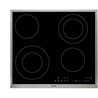 Attēls no AEG HK634021XB built-in Ceramic Black hob