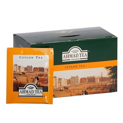 Picture of AHMAD Melnā tēja   Alu CEYLON, 20 maisiņi paciņā