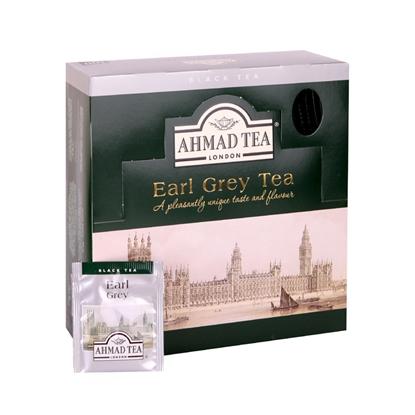 Attēls no AHMAD Melnā tēja   Alu Earl grey, 100 maisiņi paciņā