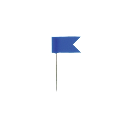 Attēls no ALCO Piespraudes tāfelei   karogs, 20 gab./iepak., sarkanas