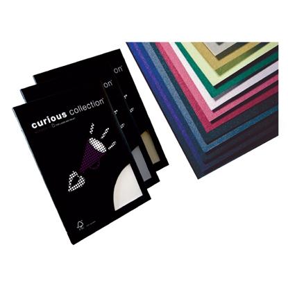 Attēls no ANTALIS Dizaina papīrs CURIOUS Metallic Ice Gold A4 formāts 120g/m2, 50 loksnes/pakā