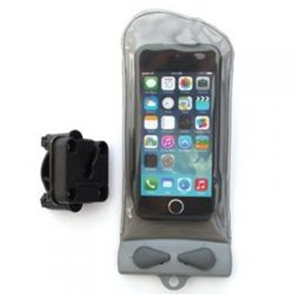 Attēls no AQUAPAC Mini Bike-Mounted Waterproof Phone Case / Pelēka