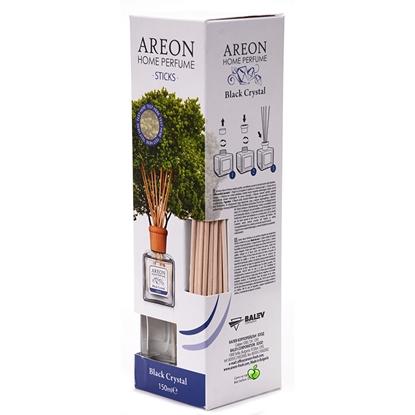 Изображение AREON Gaisa atsvaidzinātājs   Perfume Black Crystal, ar kociņiem, 150 ml