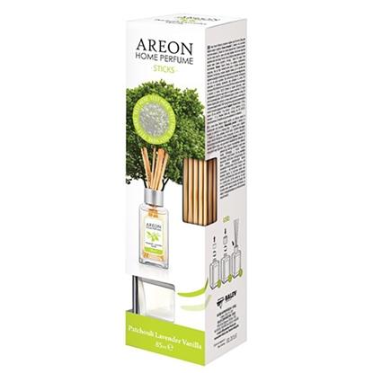 Изображение AREON Gaisa atsvaidzinātājs   Perfume Pačūlija - Lavanda, ar kociņiem, 150 ml