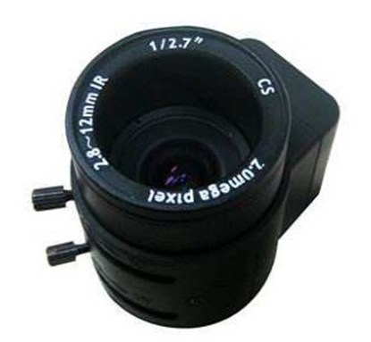 """Picture of CCTV lens HD 1/2,7"""" 2.8-12mm XD02812GMP"""
