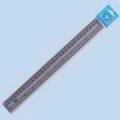 Picture of CENTRUM Plastmasas lineāls   30 cm, dūmakains