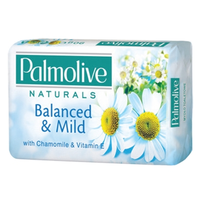 Picture of COLGATE-PALMOLIVE Tualetes  ziepes  PALMOLIVE Chamomile & Vitamins 90g