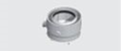 Attēls no DEDIETRICH Dūmgāzu caurules adapteris 80/125 HR68