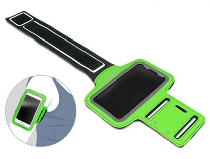 Изображение Delock Sport Armband for Smartphone green