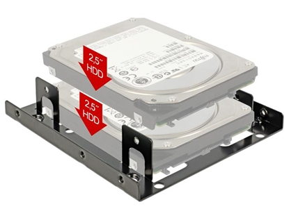 Picture of Delock Installation frame 3.5  2 x 2.5 HDD