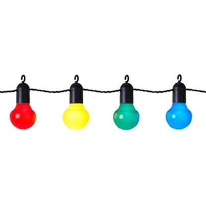 Attēls no 20 LED Party Light virtene 5.7m krāsaina
