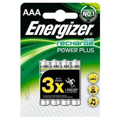 Attēls no Energizer AAA/HR03, 700 mAh, Rechargeable Accu Power Plus Ni-MH, 2 pc(s)