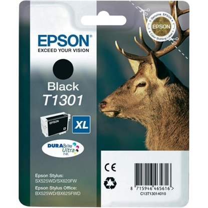 Изображение EPSON Ink   T130 black BLISTER | Stylus SX525WD/SX620FW/BX525WD/BX625FWD/BX925FWD