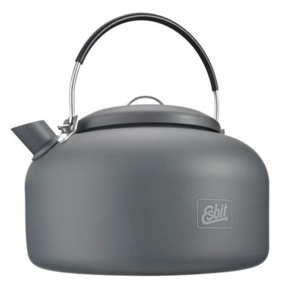 Изображение ESBIT Water Kettle 1.4 L / Tumši pelēka / 1.4 L