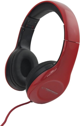 Picture of ESPERANZA Audio Stereo Headphones with volume control EH138R | 3m