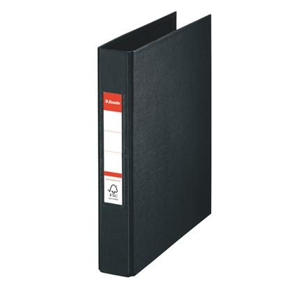 Attēls no ESSELTE Mape   A5 formāts, 2 riņķi 25mm, muguriņa 35mm, melnā krāsā