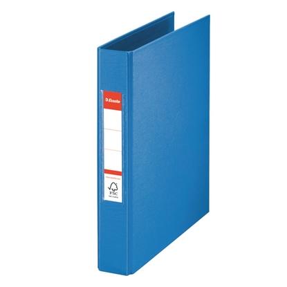 Изображение ESSELTE Mape   A5 formāts, 2 riņķi 25mm, muguriņa 35mm, zila