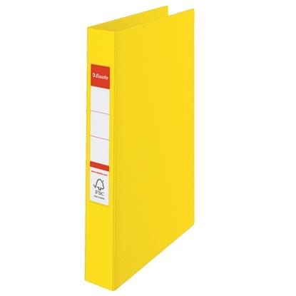 Attēls no ESSELTE Mape   VIVIDA ar 2 gredzeniem, FCS, A4 formāts, 25mm, dzeltena (14450)