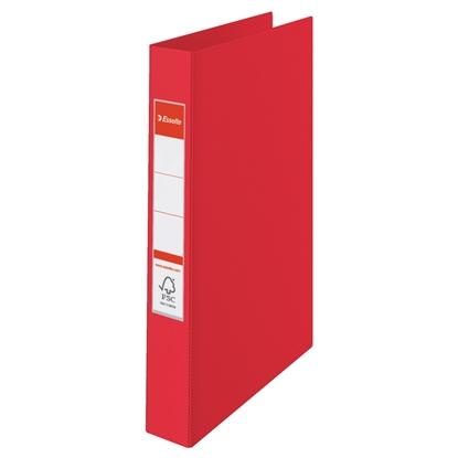 Attēls no ESSELTE Mape   VIVIDA ar 2 gredzeniem, FCS, A4 formāts, 25mm, sarkana  (14451)