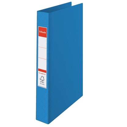 Attēls no ESSELTE Mape   VIVIDA ar 2 gredzeniem, FCS, A4 formāts, 25mm, zila (14452)