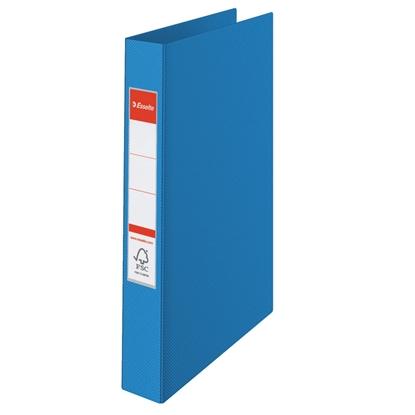 Attēls no ESSELTE Mape   VIVIDA ar 4 gredzeniem, FCS, A4 formāts, 25mm, zila (14460)