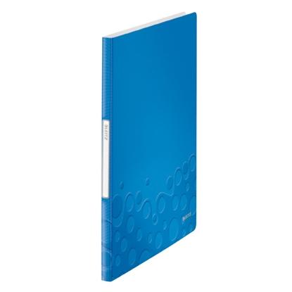 Attēls no ESSELTE Mape prospektiem Leitz WOW ar 20 kabatiņām, A4 formāts, gaiši zila krāsā