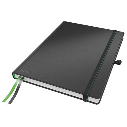 Изображение ESSELTE Piezīmju grāmatiņa  LEITZ COMPLETE A5 formāts, 80 lapas, squared, melna