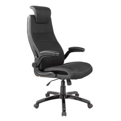 Attēls no EVELEKT Biroja krēsls Office4You PISTOIA melns