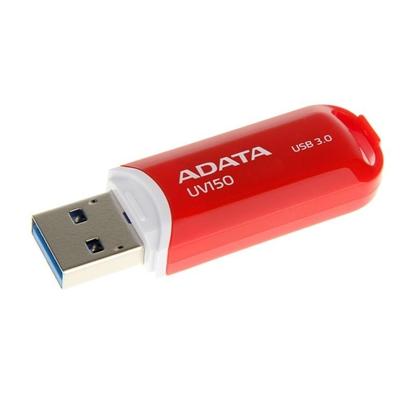 Attēls no ADATA 32GB DashDrive UV150 32GB USB 3.0 (3.1 Gen 1) Type-A Red USB flash drive
