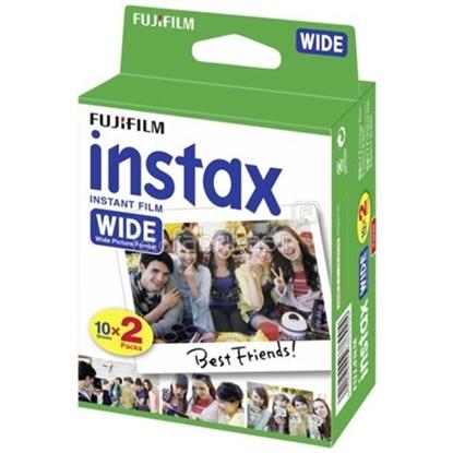 Изображение Fujifilm Instax Wide Glossy (10plx2) Film Quantity 20, 108 x 86 mm