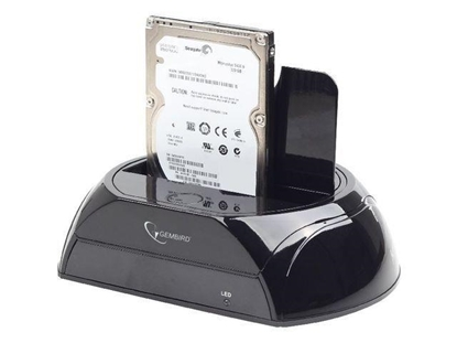 Attēls no GEMBIRD USB 3.0 DOCKING STATION FOR SATA 2.5/3.5