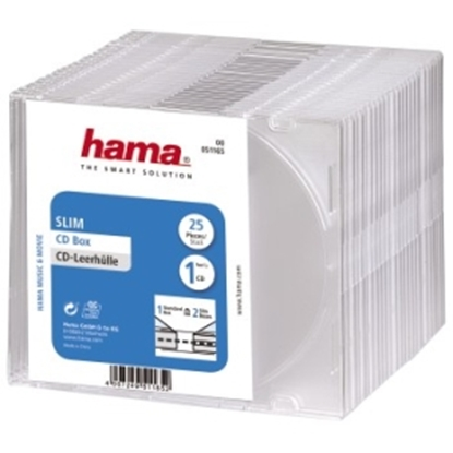 Picture of Vāciņš CD/DVD Hama 25gab