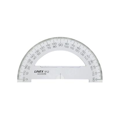 Attēls no HAMELIN Transportieris LINEX 910, 180°, 10 cm, caurspīdīgs