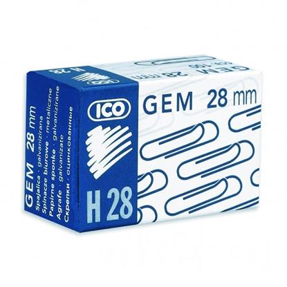 Изображение ICO Saspraudes   28 mm, 100 gab/kastītē