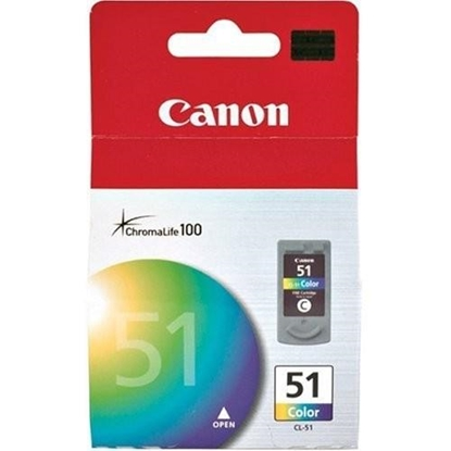 Picture of Inkjet Canon CL-51 Color