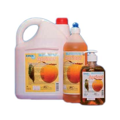 Изображение JUSMA Antibakteriālās šķidrās ziepes EWOL Professional Formula SD, ar aprikožu smaržu, 5 L