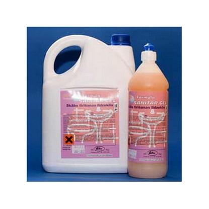 Attēls no JUSMA Tualetes tīrīšanas līdzeklis  EWOL Professional Formula SANITAR GEL, 1 L