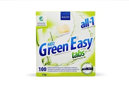 Изображение KIILTOCLEAN Tabletes trauku mazgājamai mašīnai KIILTO Green Easy 100*20g