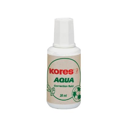 Изображение KORES Korekcijas tepe   Aqua uz ūdens bāzes 20 ml