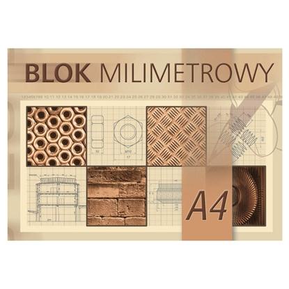 Picture of KRESKA Albums milimetru papīra   A4, 20 lapas, 80g