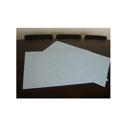 Picture of KRESKA Milimetru papīrs   A1, 64x90cm, ar oranžām līnijām