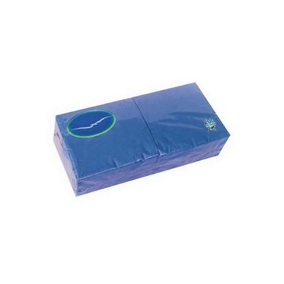 Изображение LENEK Salvetes  , 2 sl., 200 salvetes, 24 x 24 cm, zilā krāsā
