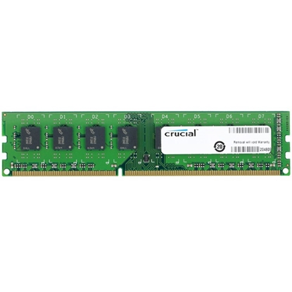 Изображение Crucial 8 GB, DDR3, 240-pin DIMM, 1600 MHz, Memory voltage 1.35 V, ECC No