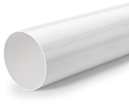 Attēls no NABER ventilācijas kanāls, apaļš Ø 150 mm, 500 mm